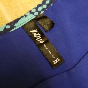 KD110 Tops - KD110 Nurse Scrubs Top | Size 3XL